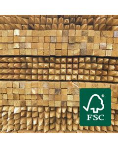 FSC® Certified Square Sawn Tree Stakes · *Discounted when bought with tree guards
