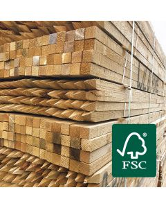 FSC® Certified Square Sawn Tree Stakes