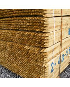 Square Sawn Tree Stakes · *Discounted when bought with tree guards